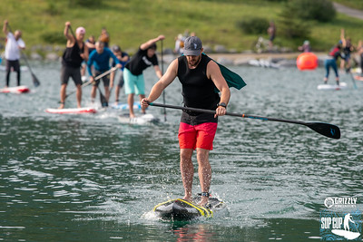 2019 Grizzly KCPO Paddle Board Race 1st Lap
