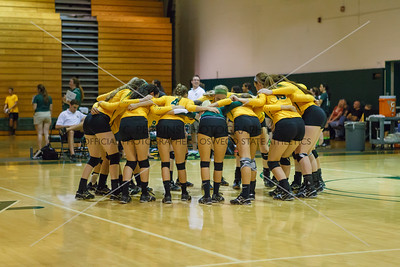 Volleyball vs D'Youville 9-18-15