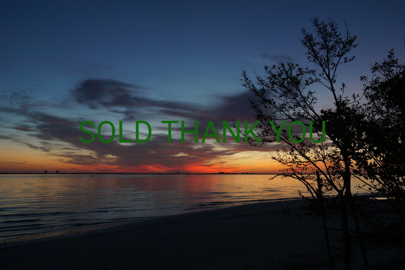 Sanibel Sunrise - Limited Edition 12x18 Print $25
