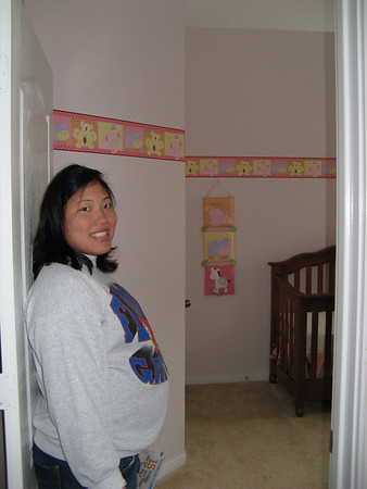 April 8, 2007 - Decorating the Nursery