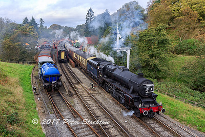 Departing Goathland