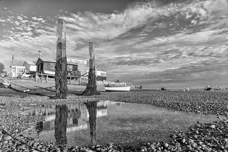 Low Tide at Felixstowe Ferry