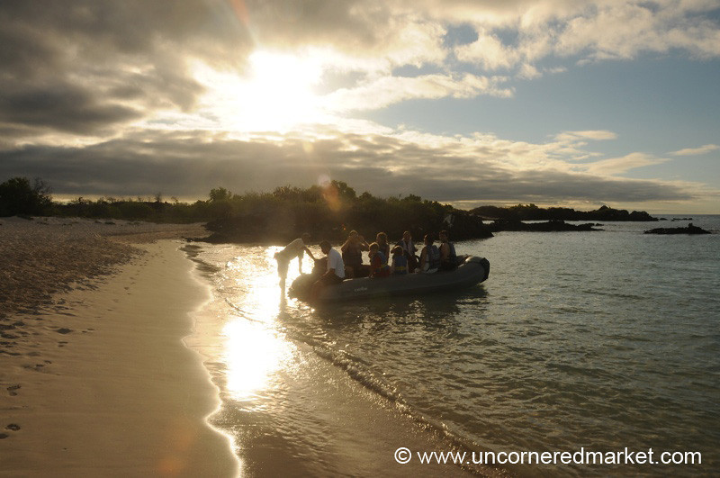Setting Off for the Boat - Galapagos Islands
