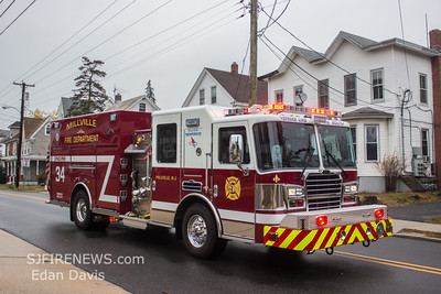 11/06/2014, MVC, Millville City, Cumberland County NJ, S. 2nd St. and Ware Ave.