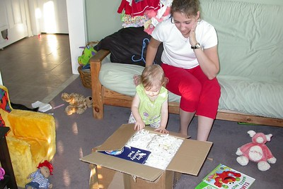 Dad's Package Arrives - 20040824
