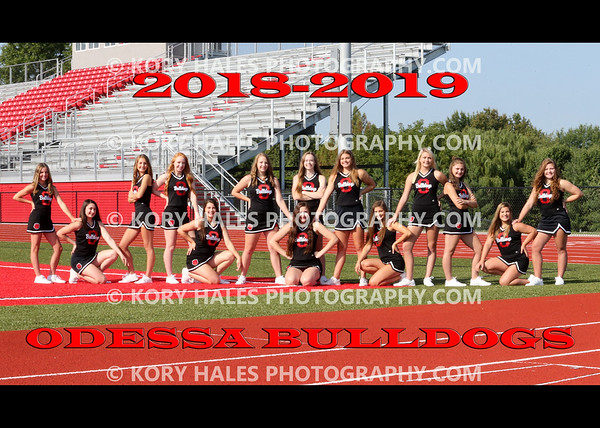 2018 OHS Cheerleading