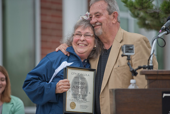 May 6, 2015 SHERRY ALBRIGHT - 2015 CINTAS JANITOR OF THE YEAR