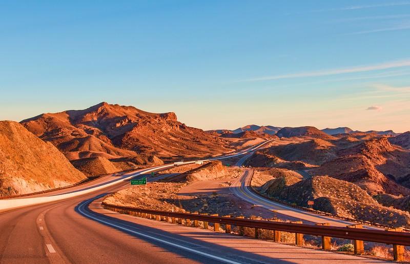 road trips from las vegas - nevada highway