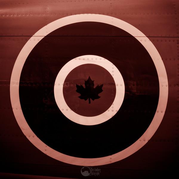 Royal Canadian Air Force Roundel.  Argonaut, Race 114