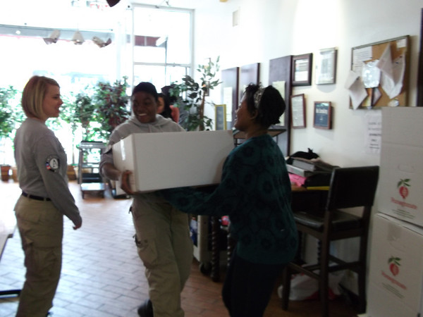 Passover Distributions for Victims of Domestic Violence
