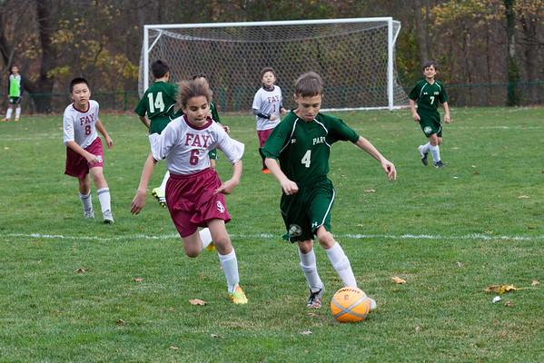 2015 Park 6th grade soccer