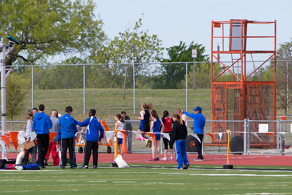 District Track Meet in Springtown