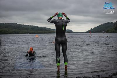 Big Welsh Swim - 9kM Green Hats at 3kM Parc Llanberis