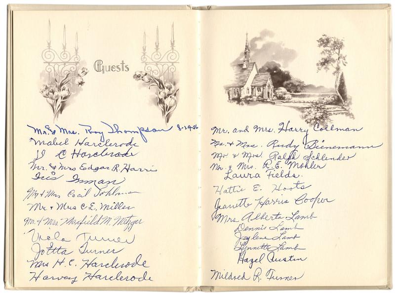 Anniversary Book signatures