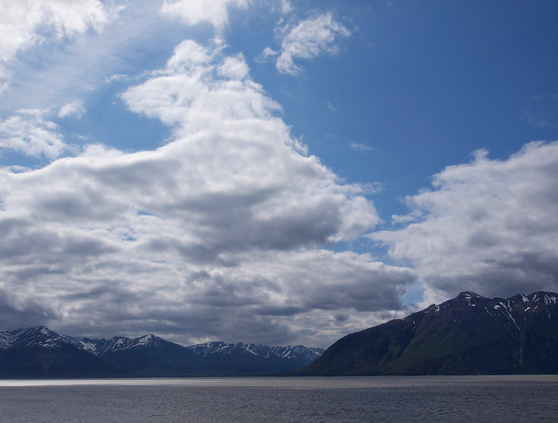 Turnagain Arm - Anchorage, Alaska  By Valerie Mellema  June 10, 2011