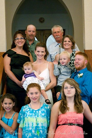 All three generations of the Reiss family.