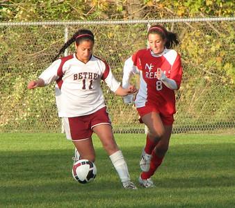 Varsity Girls Soccer vs New Fairfield - 10/13/09