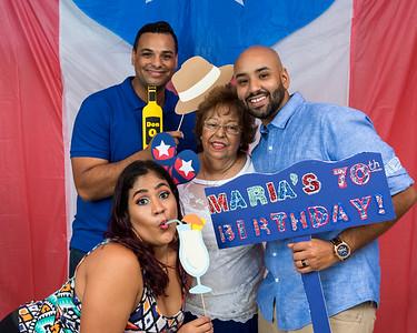 Maria's 70th Bday Celebration