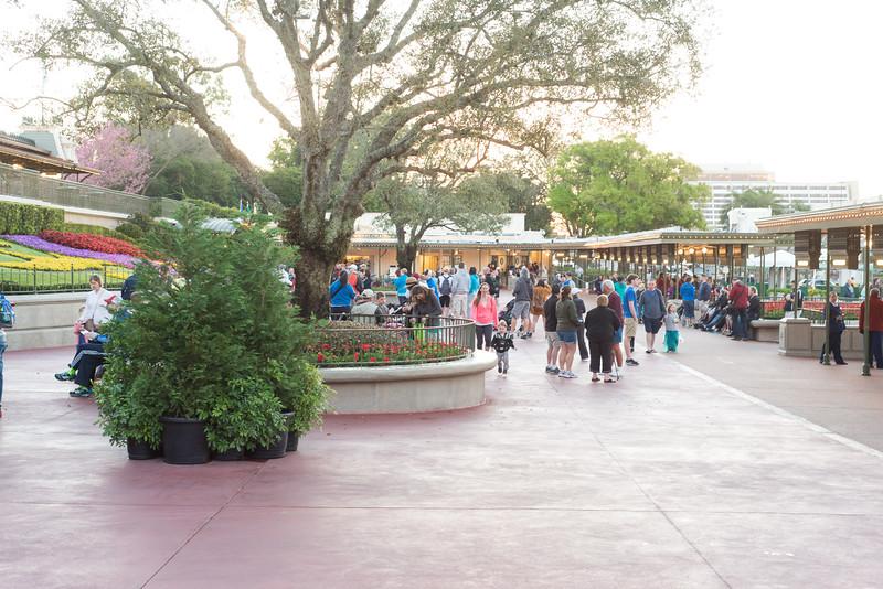 Before Rope Drop - Magic Kingdom Walt Disney World