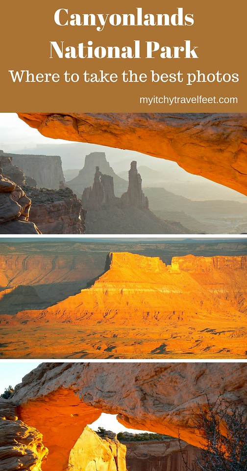 Where to take the best photos in Canyonlands National Park.