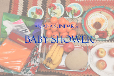 Anjana Sundar's Baby Shower