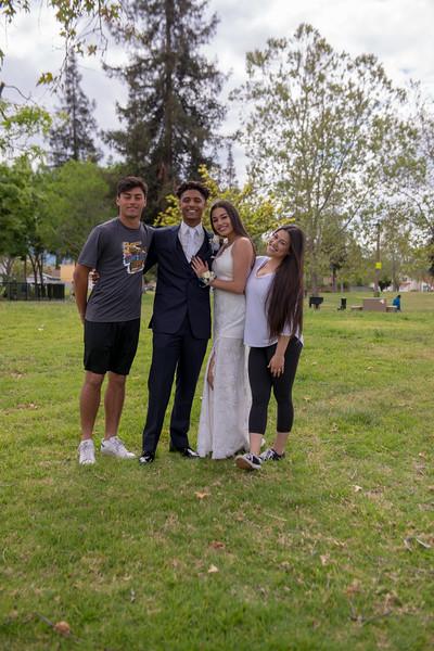 20180428 Prom Ben and Jessa
