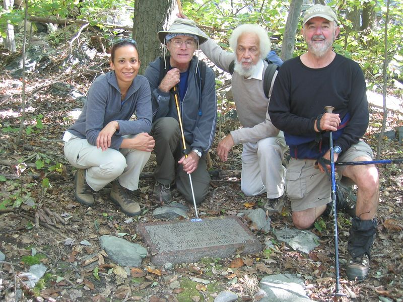 Finders of Wilderness Memorial - 10/6/04 Photo by Jon  with Silvia camera.