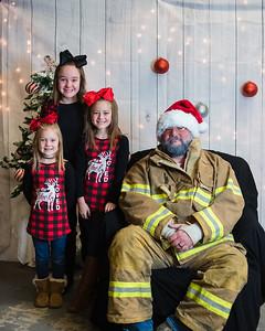 Mt. Gilead Fire Dept {Santa}