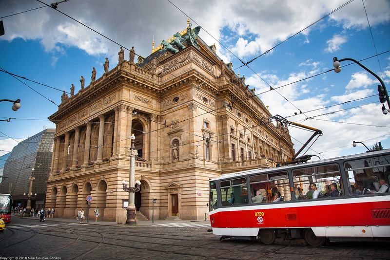 Prague - The National Theater