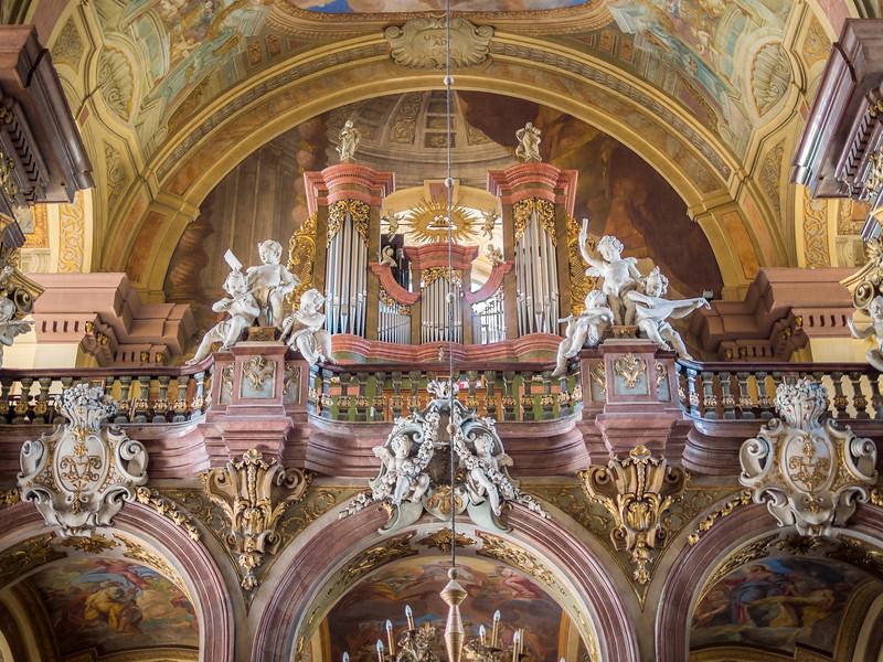 Organ Loft of the University Church, Wrocław, Poland