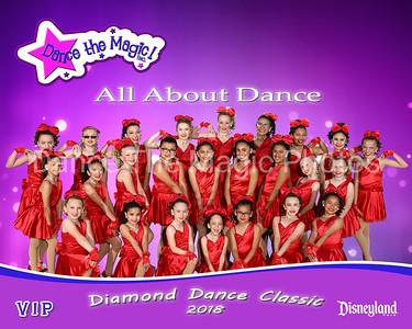 Diamond Dance Classic 2018 at Disneyland