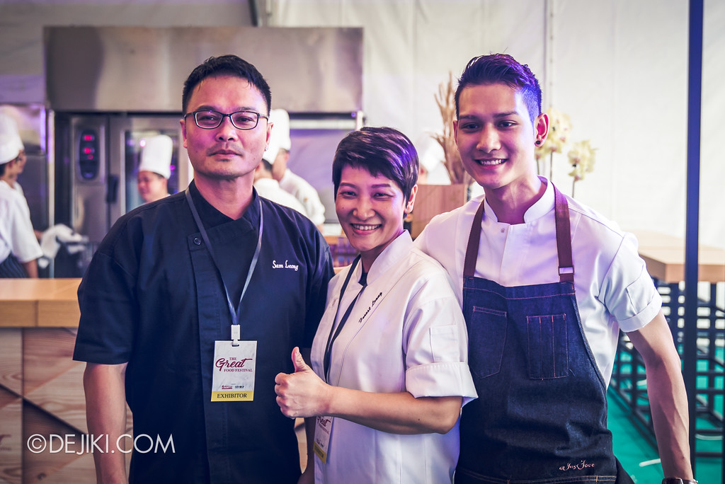 The Great Food Festival RWS - Celebrity Chef Area / Sam Leong and Family from FOREST