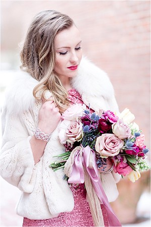 Modern Glamour • Winter Styled Shoot