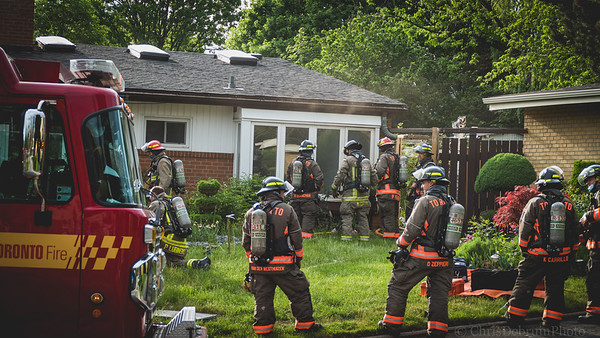 May 22, 2021 - Working Fire - 89 Kendleton Dr.