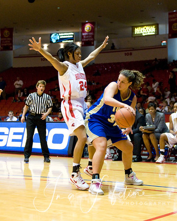 UH vs Tulsa Women's Basketball