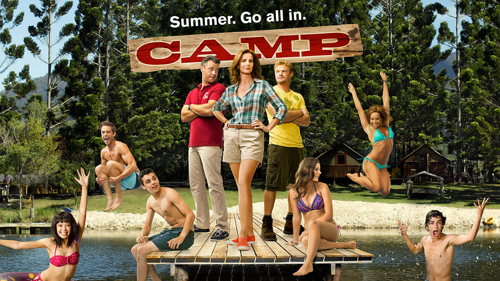 ". CAMP -- Season: 1 -- Pictured: ""Camp\"" Key Art -- (Photo by: John Tsiavis/NBC)"