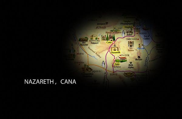 Israel 1 - Caesarea, Nazareth, Cana