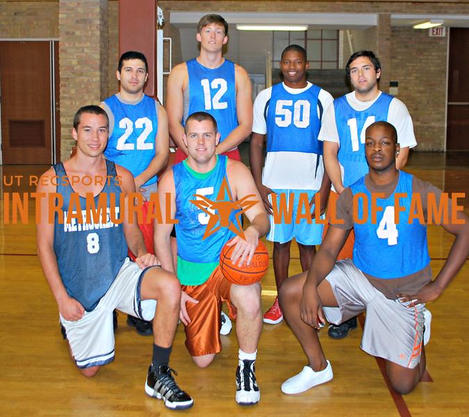 SUMMER BASKETBALL Champion  Jebron Lames  R1: Shaun Hardick, Benjamin Shoemaker, Terrance Ohabughiro  R2: Gregory Gonzales, Austin New, Jeremy Traylor, Jacob Garner