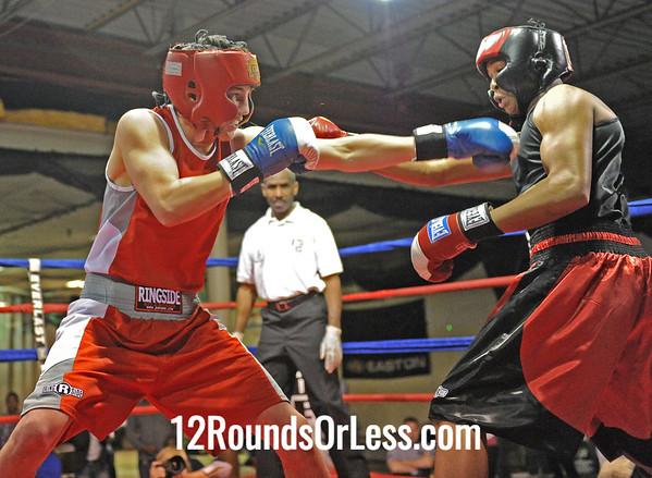 Brian McElrallat (AK) vs Patrich Brown (DNTN)  141 Lbs.  Bout # 4