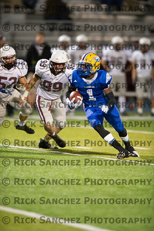 10-12-12 Sandburg vs Lockport Sr Night Football