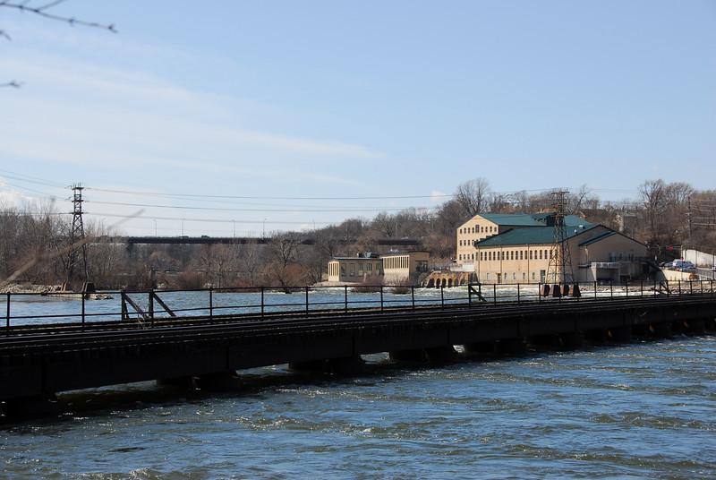 Paper Mill on Fox River - Appleton, Wisconsin