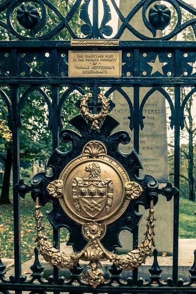 Monticello  - Jefferson's Grave