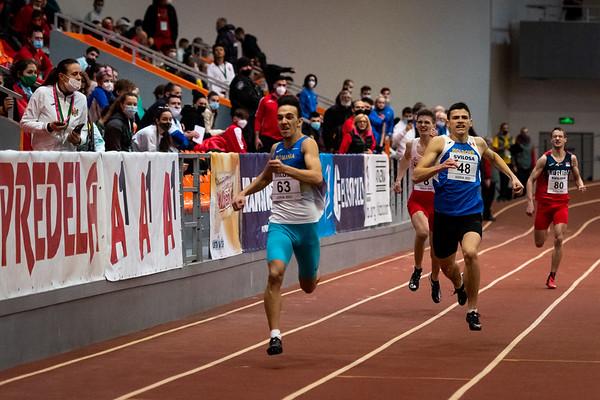 400m Running, Men