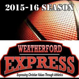 2015-16 Weatherford Express Basketball