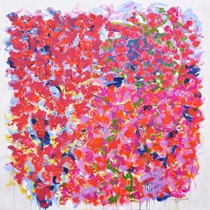 """Good Morning"" (acrylic on canvas) by Cindy Bernier"