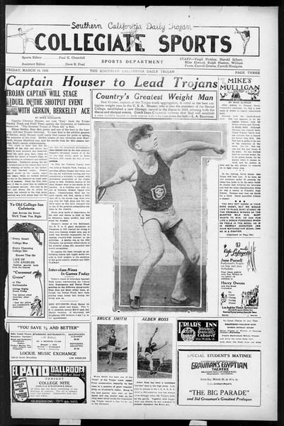 Daily Trojan, Vol. 17, No. 111, March 19, 1926