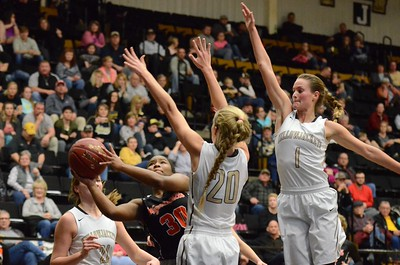 Basketball - LHS Girls 2016-17 - Waynesville