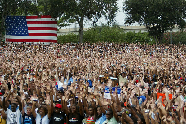 Campaign Rally for Senator Barack Obama
