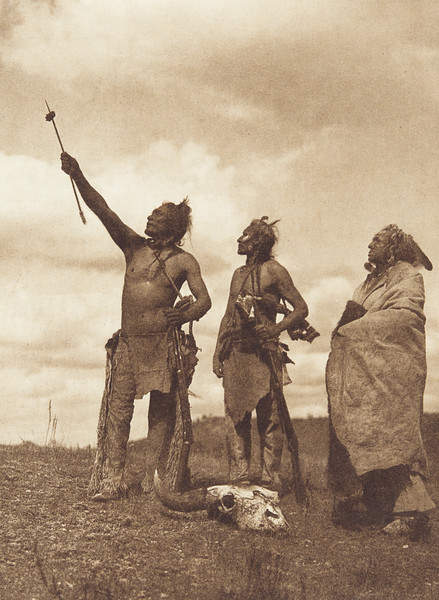 The Oath - Apsaroke (Indians of North America, v. IV. Cambridge, MA: The University Press, 1909)