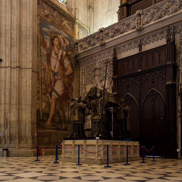 Catedral de Santa María de la Sede - Tomb of Columbus